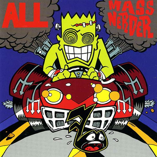 All – Mass Nerder – CD