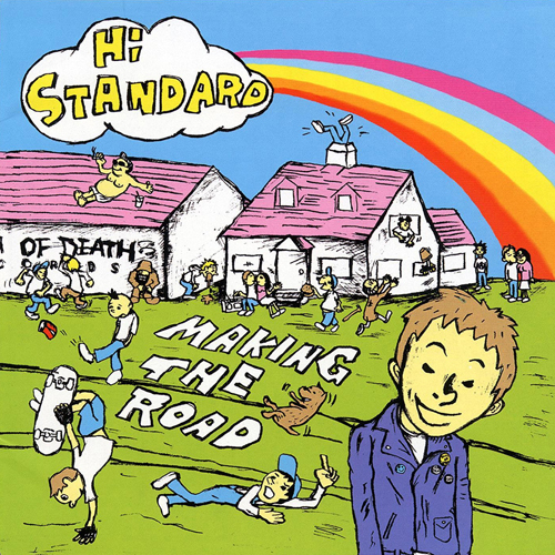 Hi-Standard – Making the Road – CD