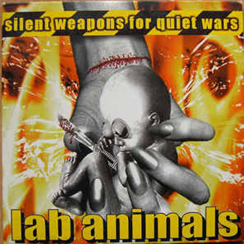 Lab Animals – Silent Weapons for Quiet Wars – CD