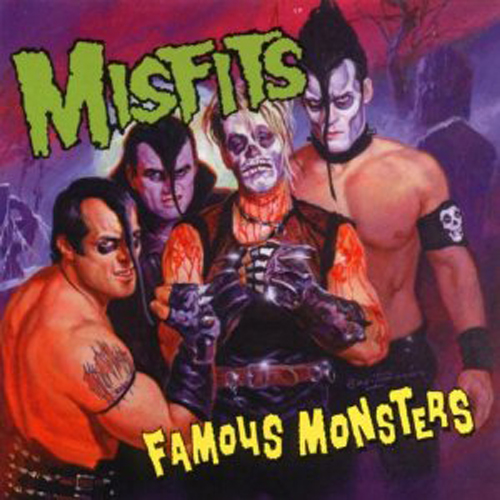 Misfits – Famous Monsters – CD