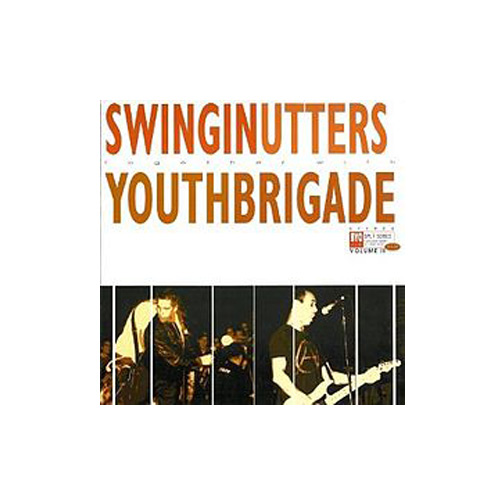 Swinging Utters / Youth Brigade – Split Series Vol II – CD