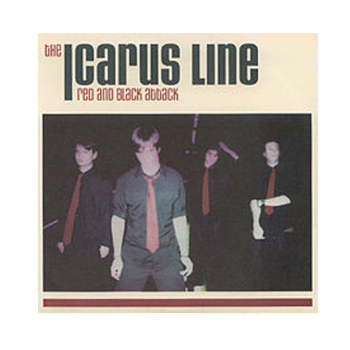 The Icarus Line – Red And Black Attack – CD