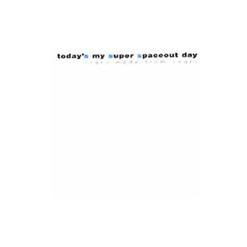 Today's My Super Spaceout Day – Stars Made from Scars – CD