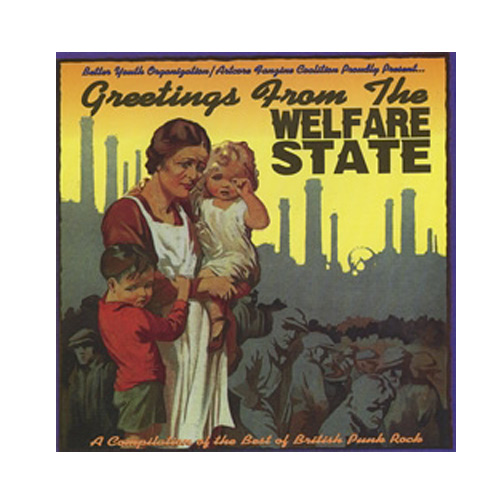 V/A – Greetings from the Welfare State – CD