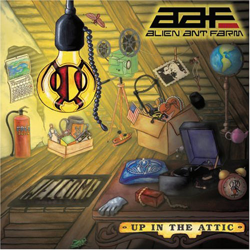 Alien Ant Farm – Up In The Attic – CD