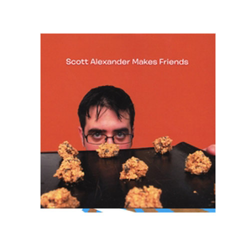 Scott Alexander – Makes Friends – CD