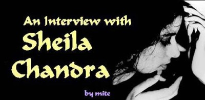 Interview with Shelia Chandra