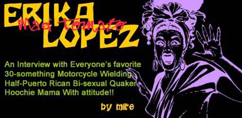 Interview with Erika Lopez