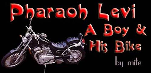 Pharaoh Levi – A Boy & His Bike