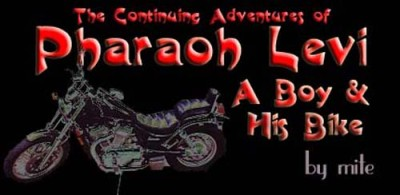 Pharaoh Levi – The Continuing Adventures of A Boy & His Bike