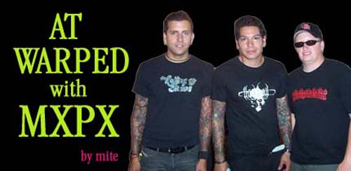 Interview with Yuri from MxPx