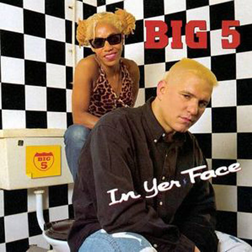 Big 5 – In Yer Face – CD