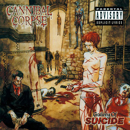 Cannibal Corpse – Gallery of Suicide – CD