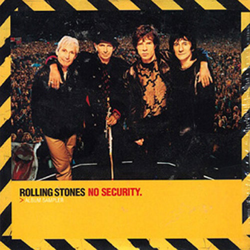 The Rolling Stones – No Security – CD