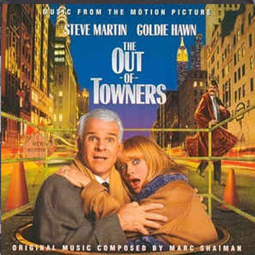 Marc Shaiman – The Out-of-Towners – CD