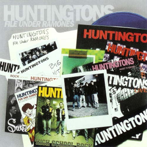 The Huntingtons – File Under Ramones – CD