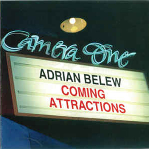 Adrian Belew – Coming Attractions – CD