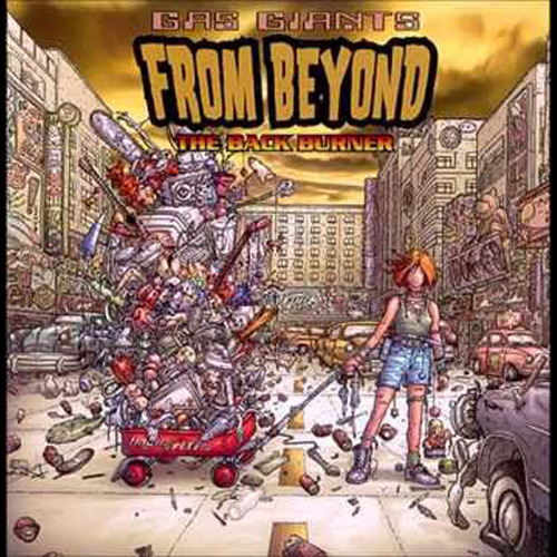 Gas Giants – From Beyond the Back Burner – CD