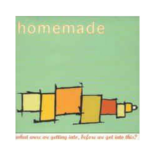 Homemade – What Were We Getting Into, Before We Got Into This? – CD