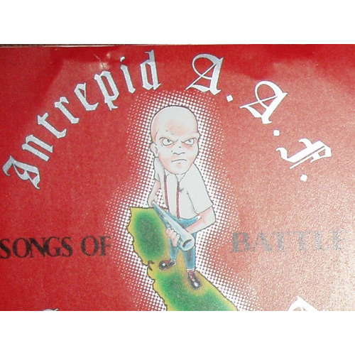 Intrepid A.A.F. – Songs of Battle – 7″
