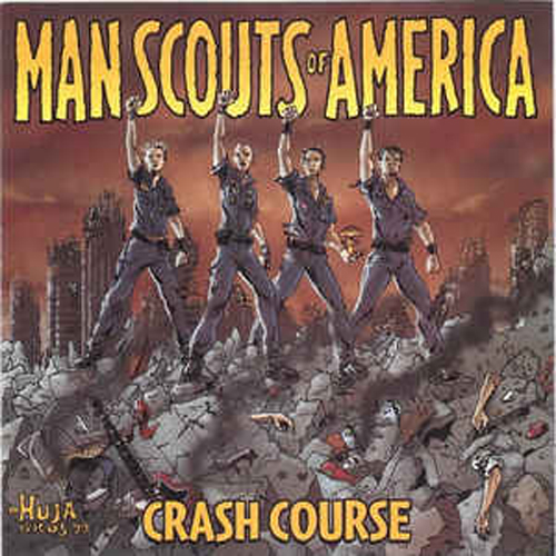Man Scouts of America – Crash Course – CD