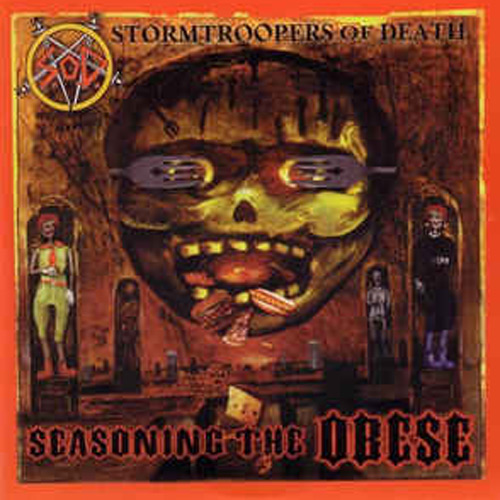 Stormtroopers of Death / Yellow Machinegun – Seasoning the Obese – 7″
