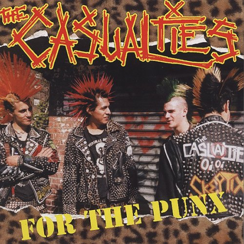 The Casualties – For the Punx – CD