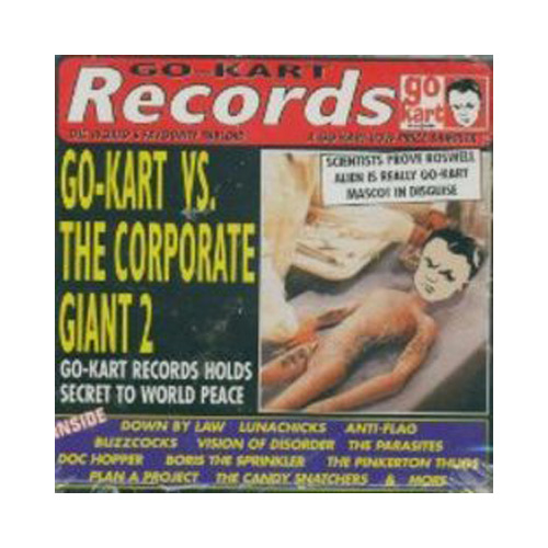 V/A – Go-Kart vs. The Corporate Giant 2 – CD